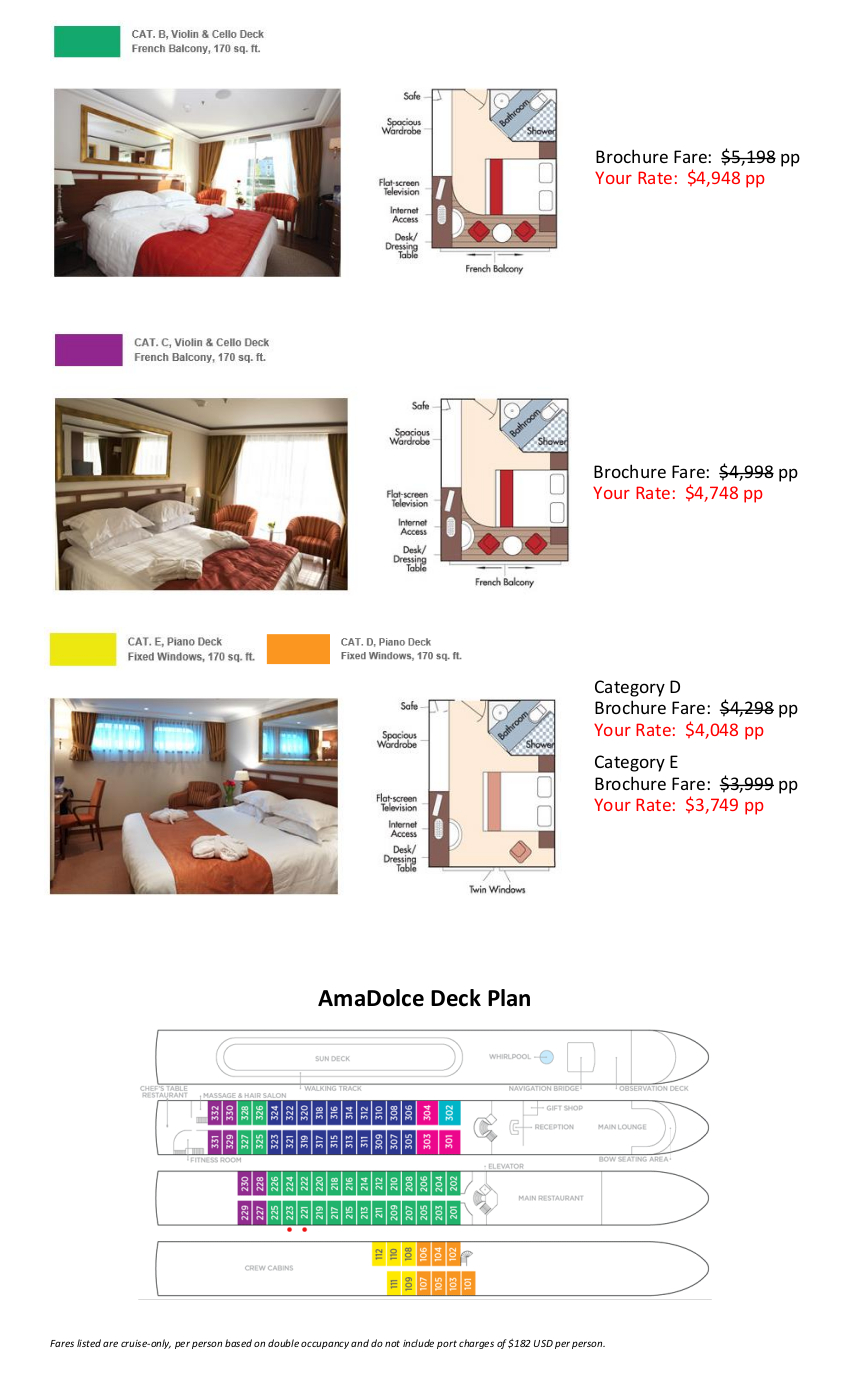 Stateroom Guide - Ehlers 2020 Bordeaux_r2 2