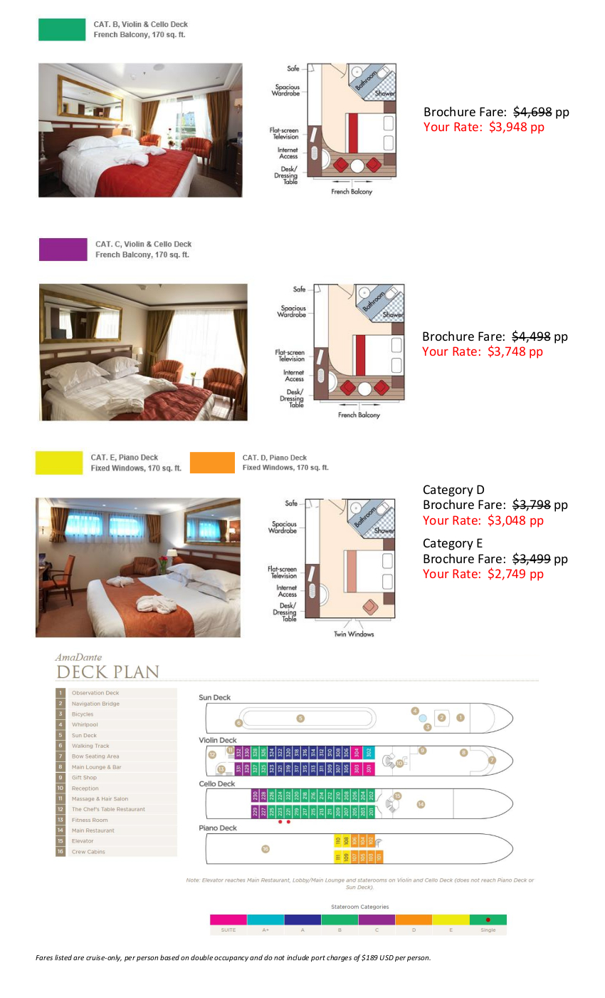 Stateroom Guide - Peterson 2020 Rhine_r1 2