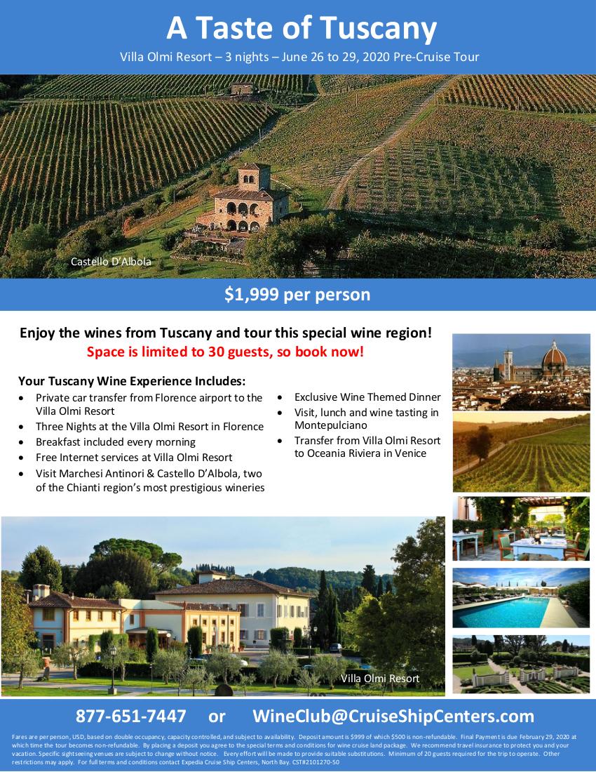 A Taste of Tuscany 1