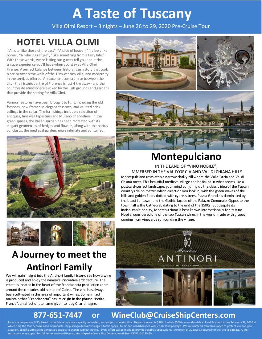 A Taste of Tuscany 2