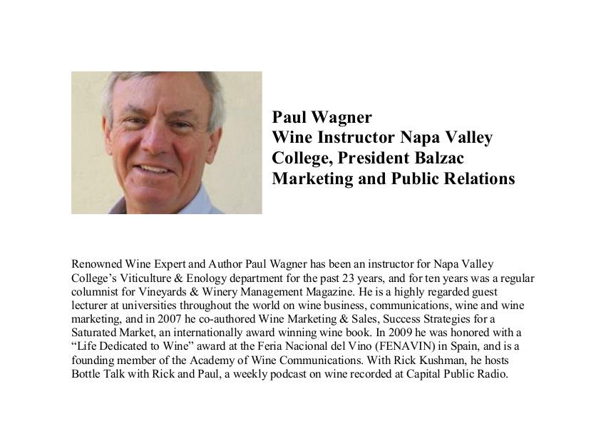 Paul-Wagner wine host bio