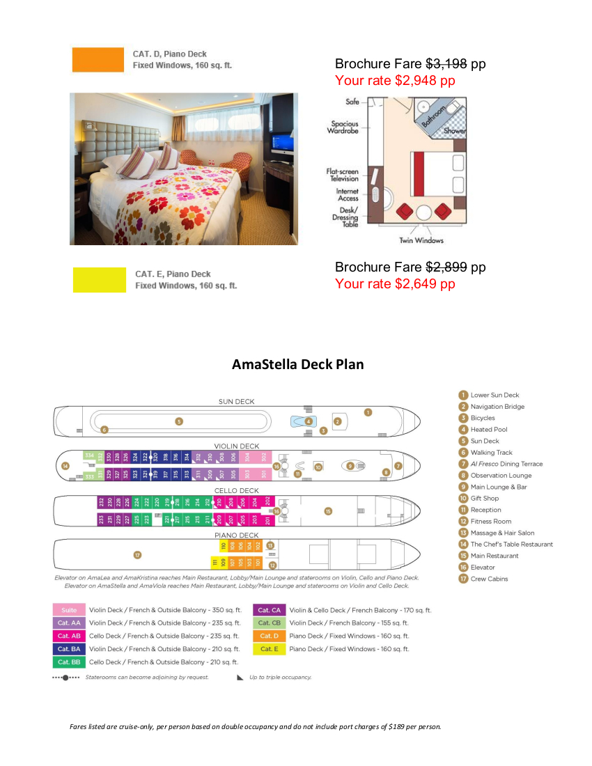 Stateroom Guide - RRVW 2020 Rhine_r4 4