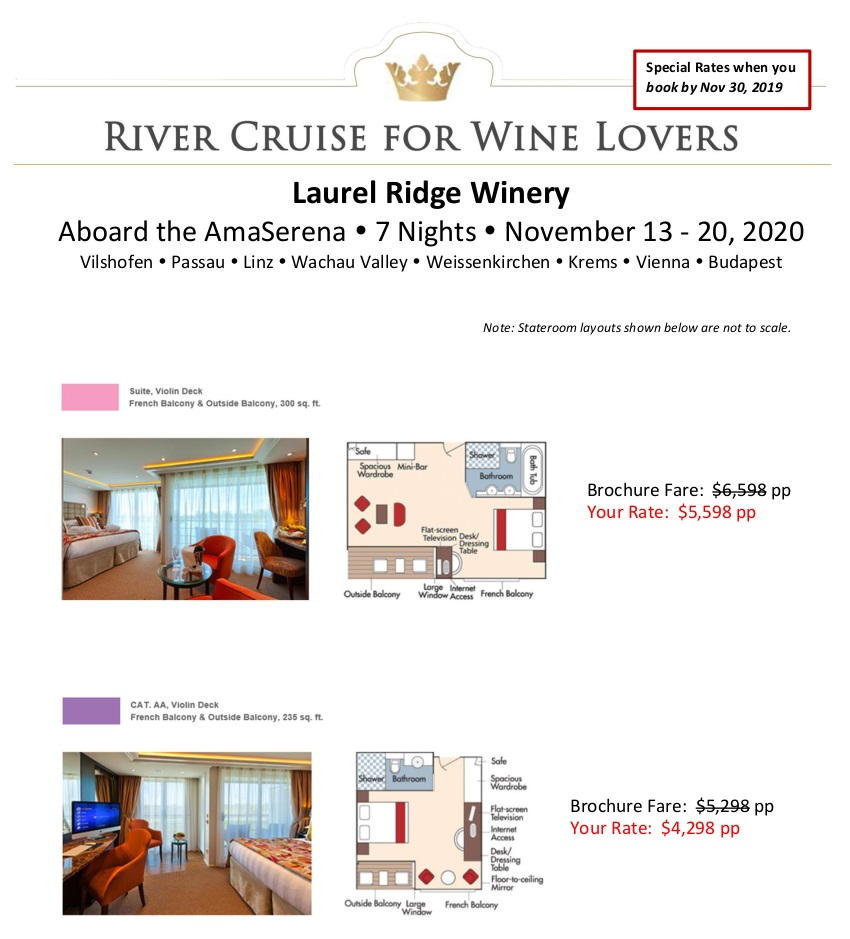 Stateroom Selection Guide Laurel Ridge 2020_r4 1