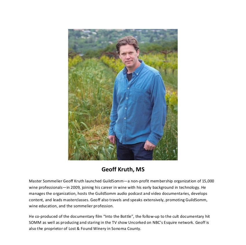 Geoff Kruth Bio