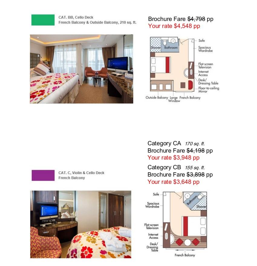 Stateroom Guide - AWS 2021 Rhine 3