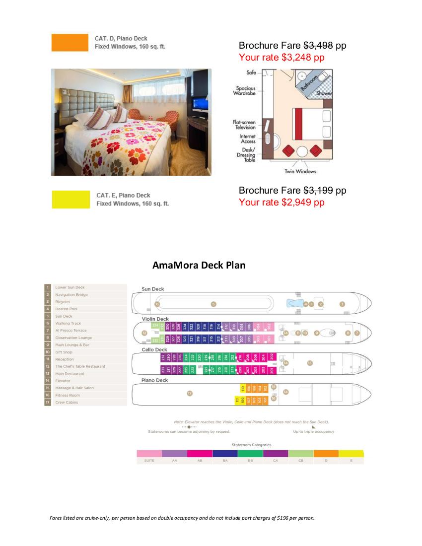 Stateroom Guide - AWS 2021 Rhine 4