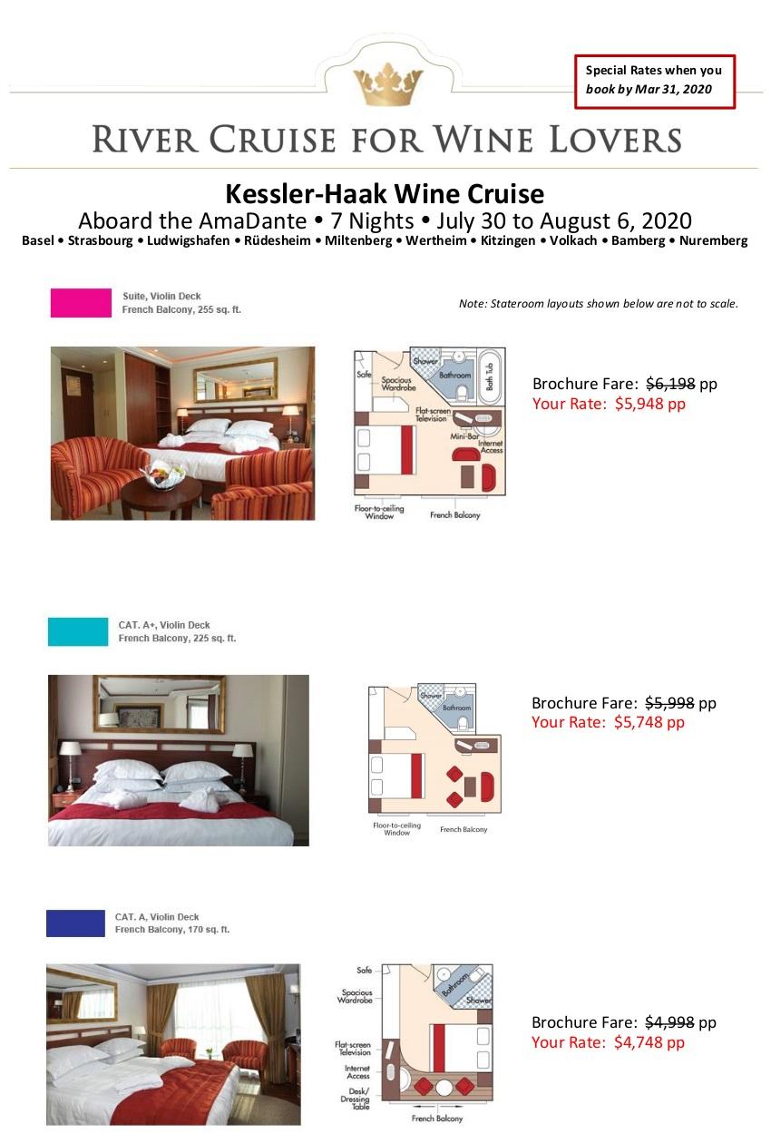 Stateroom Guide - Kessler-Haak 2020 Medieval Treasures_r5 1