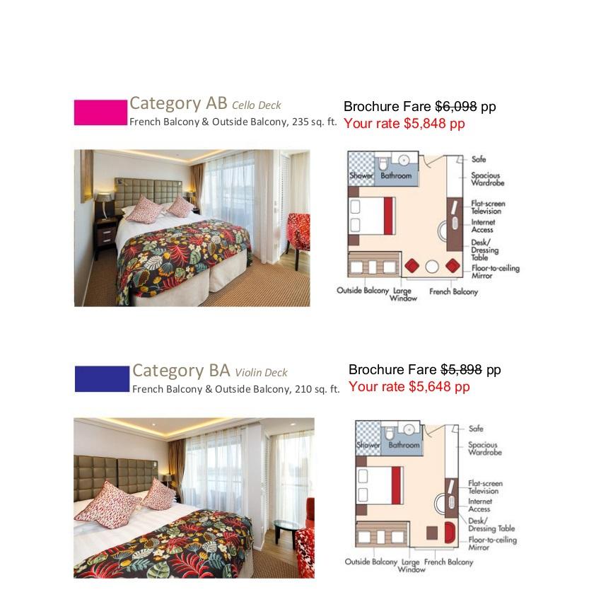Stateroom Guide - WDCV 2021 Rhone 2