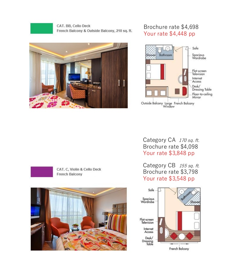 Stateroom Guide - Judd's Hill 2021 Danube 3