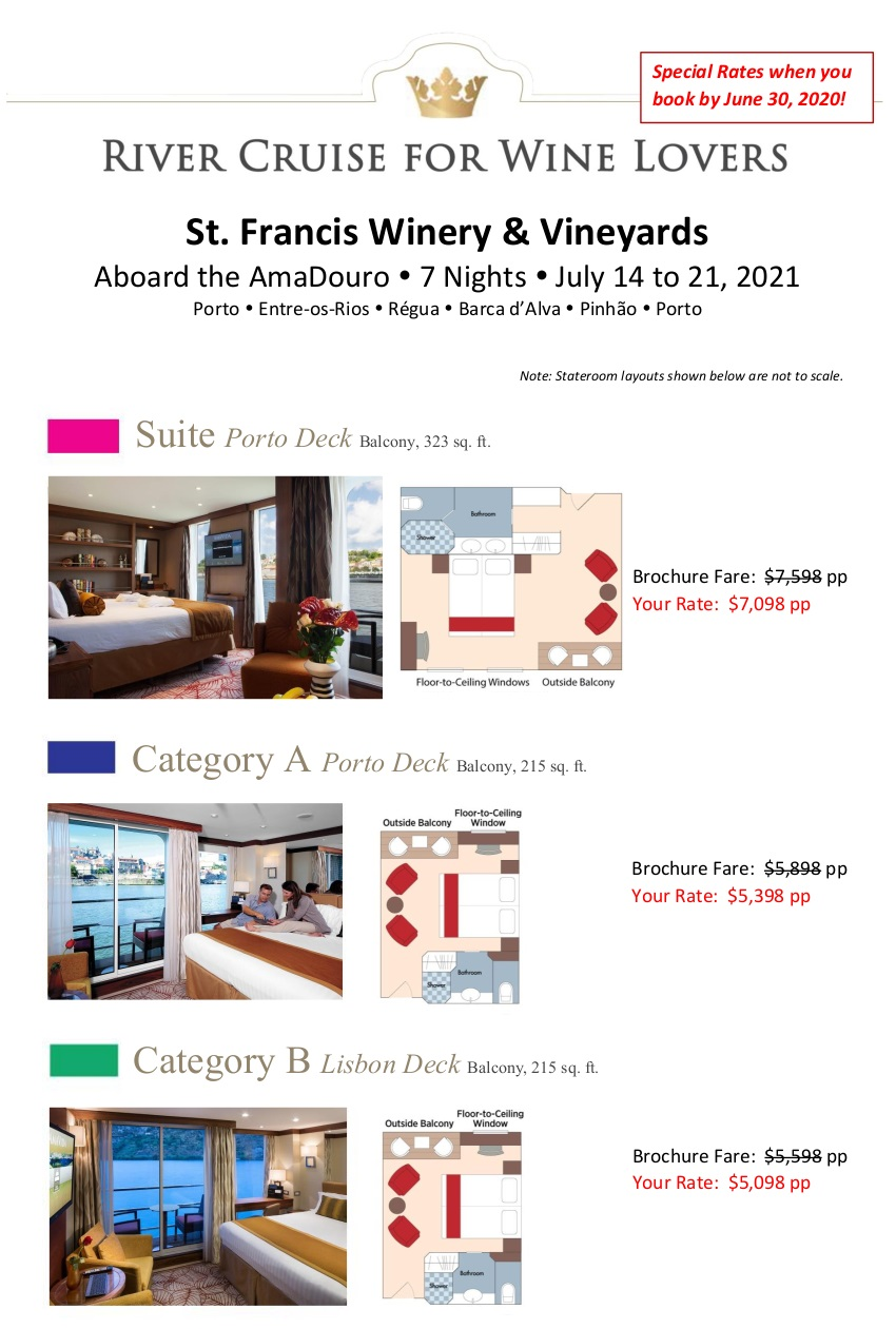 Stateroom Guide - StFrancis 2021 Douro_r3 1