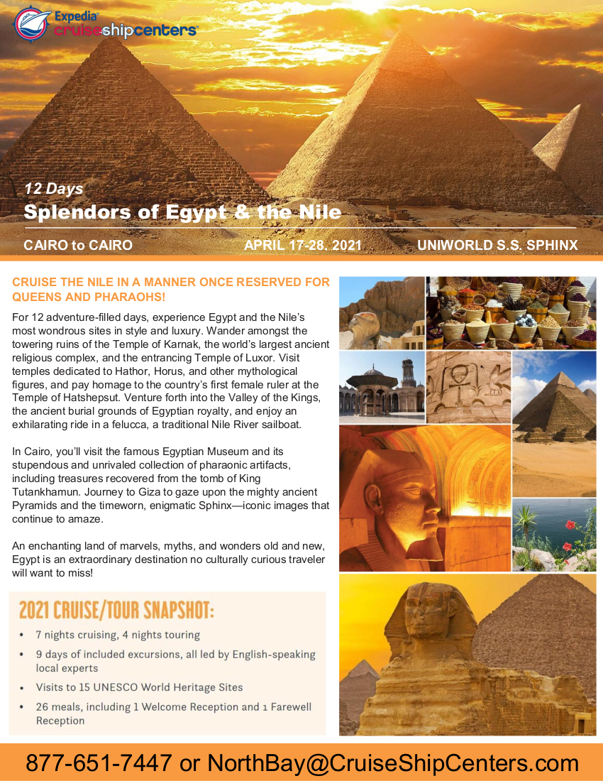 Egypt-Uniworld 2021 Cruise Flyer_DRAFT4 1