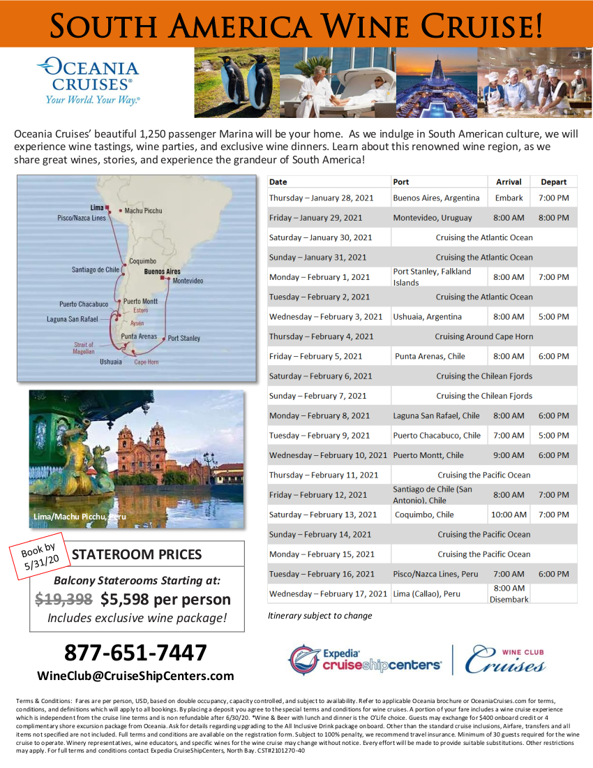 South America 2021 Cruise Flyer_v3c with New Rates 2