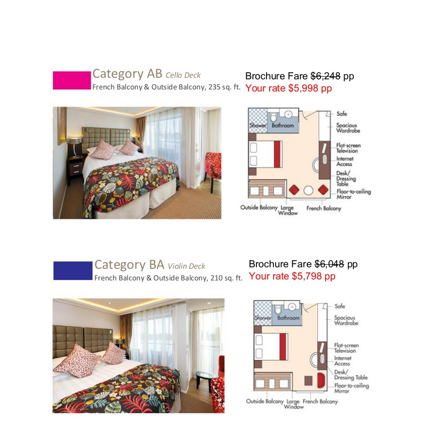 Stateroom Guide - L'Ecole 2021 Rhone_r2 2