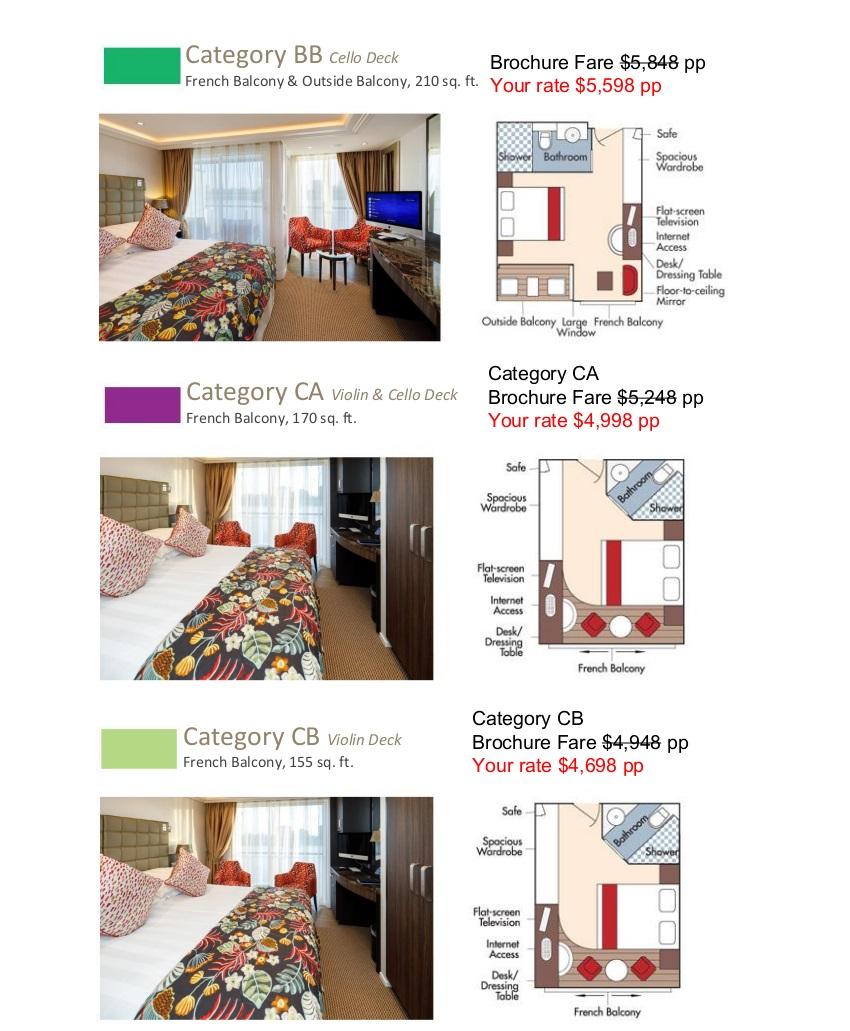 Stateroom Guide - L'Ecole 2021 Rhone_r2 3