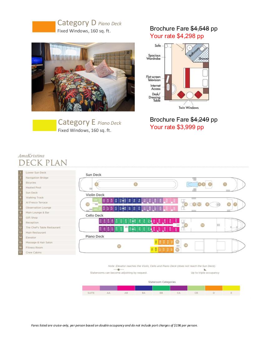 Stateroom Guide - L'Ecole 2021 Rhone_r2 4
