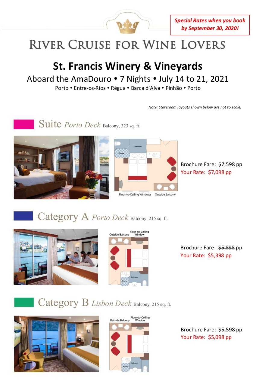 Stateroom Guide - StFrancis 2021 Douro_r4 1