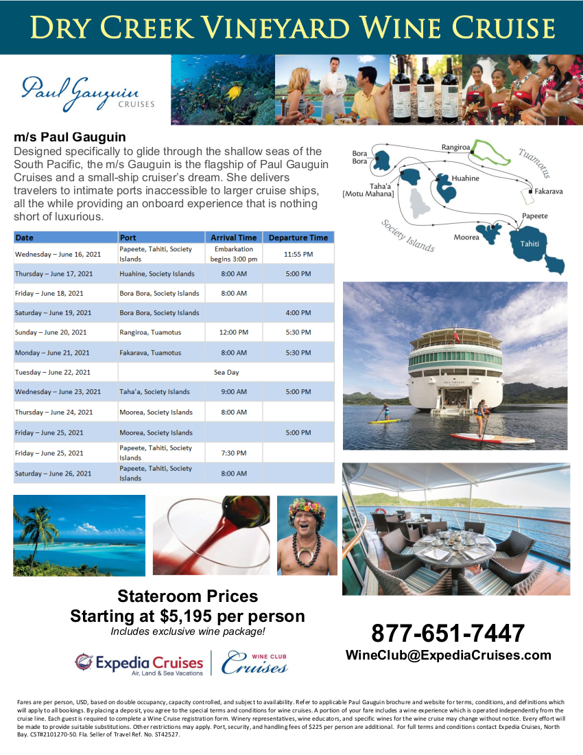 DCV 2021 Tahiti Wine Cruise Flyer 2