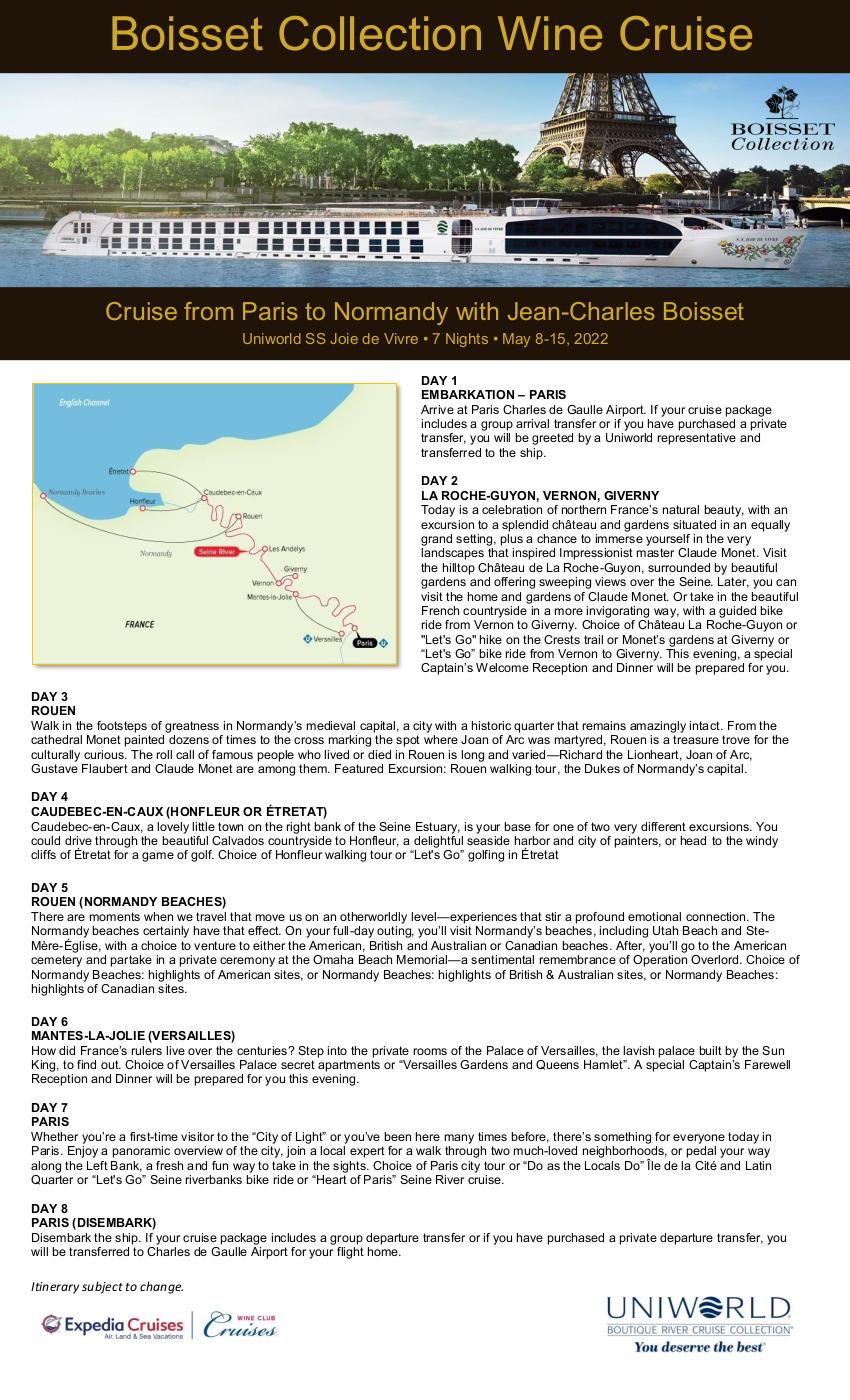 Itinerary - JCB 2022 1