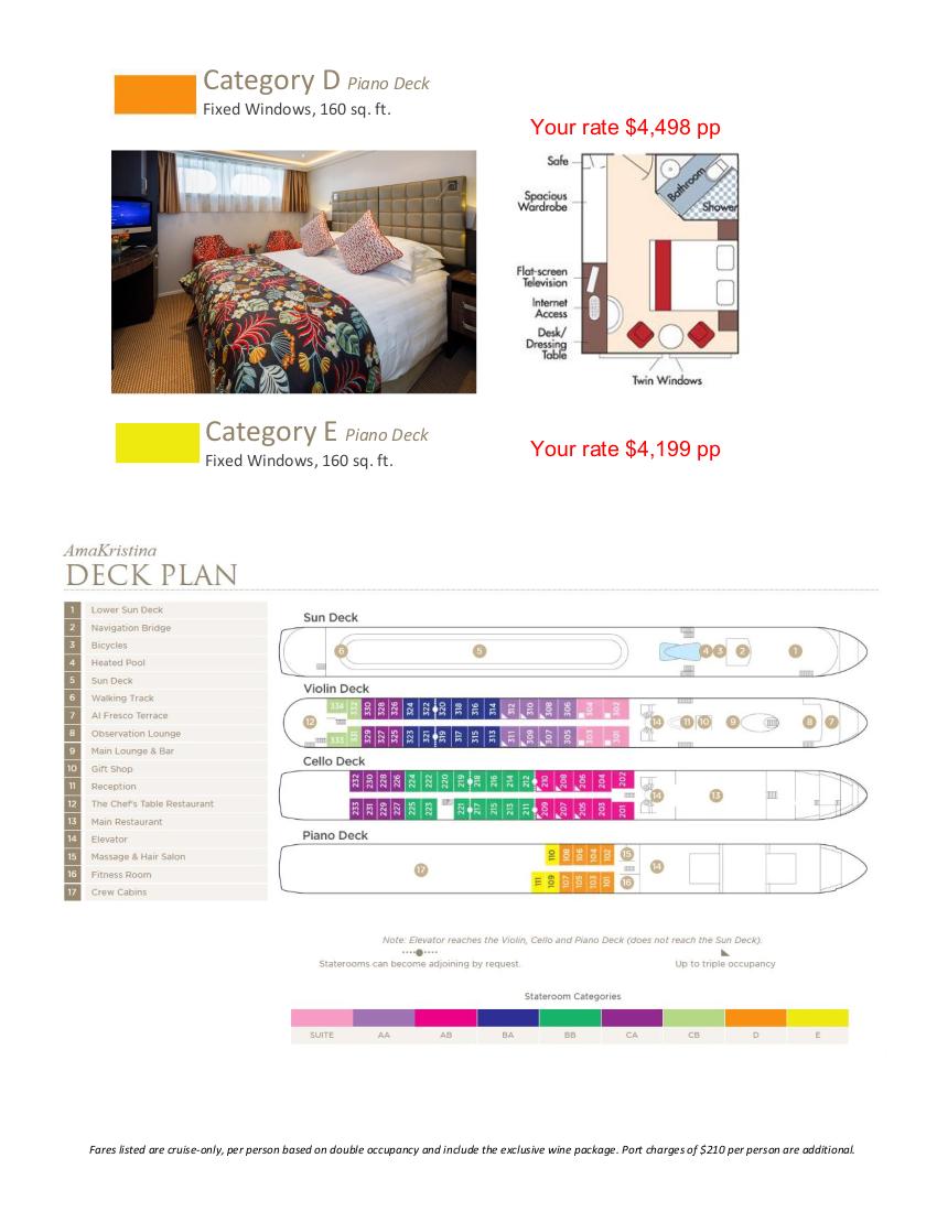 Stateroom Guide - L'Ecole 2022 Rhone_r2 4