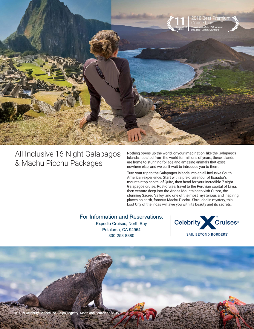 16 Night Galapagos and Machu Picchu for website