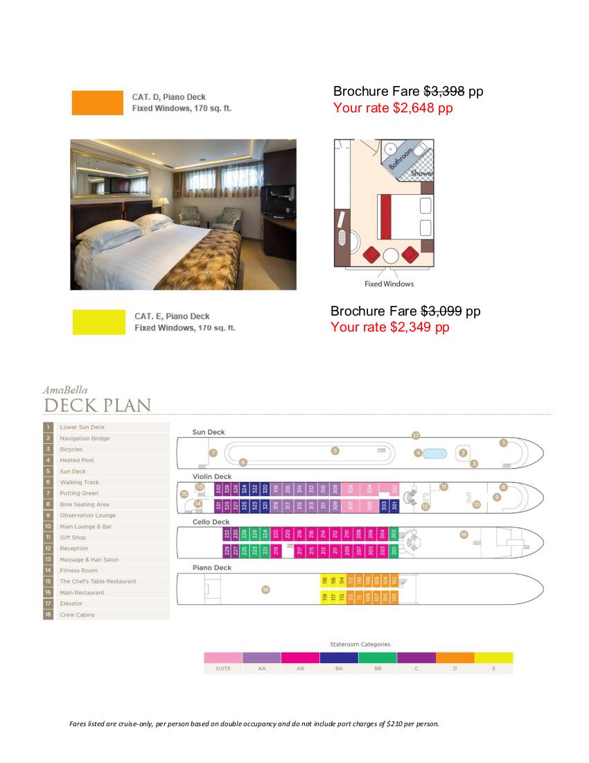 Stateroom Guide - Amphora 2022 Danube_r3 4