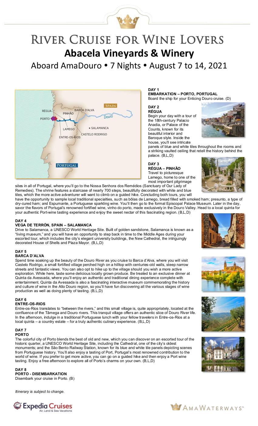 Itinerary - Abacela 2021 Douro_r1 1