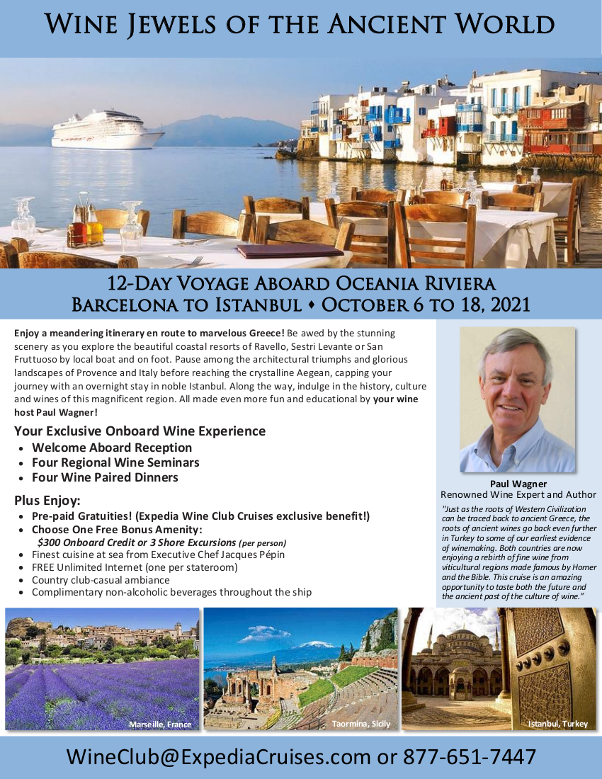 Oceania Greece and Turkey 2021 Cruise Flyer_r1 1