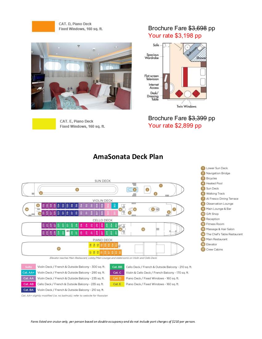 Stateroom Guide - Judd's Hill 2022 Danube 4