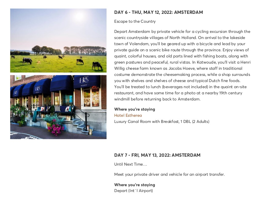 Amsterdam Highlights with Keukenhof & Floriade Expo 7