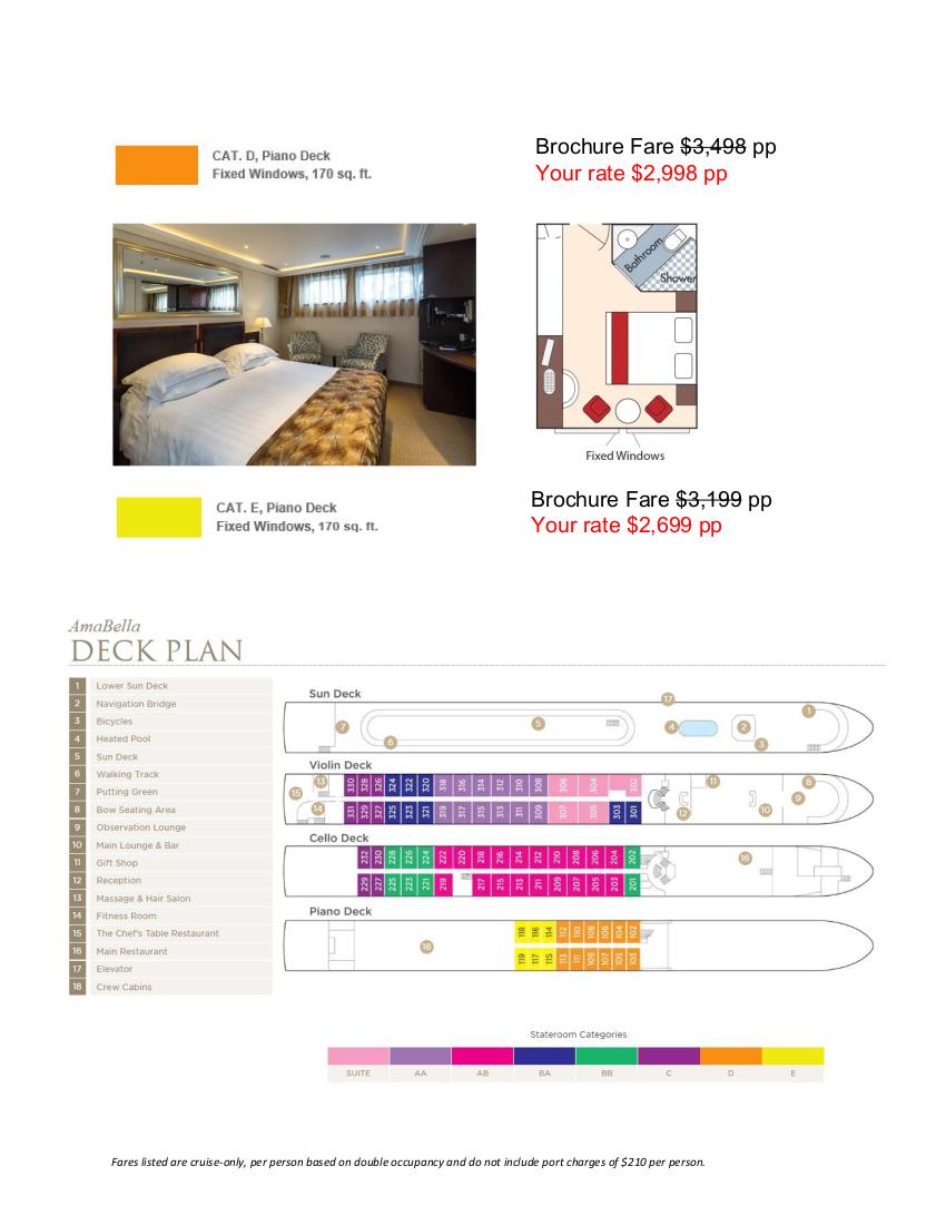 Stateroom Guide - Sonoma-Cutrer 2022 Danube_r3 4