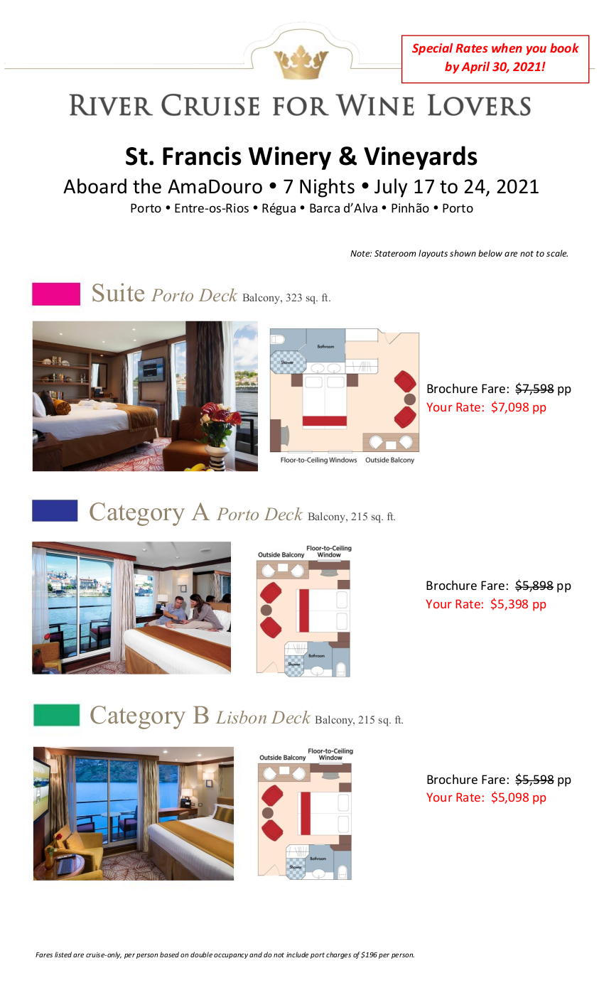Stateroom Guide - StFrancis 2021 Douro_r7 1