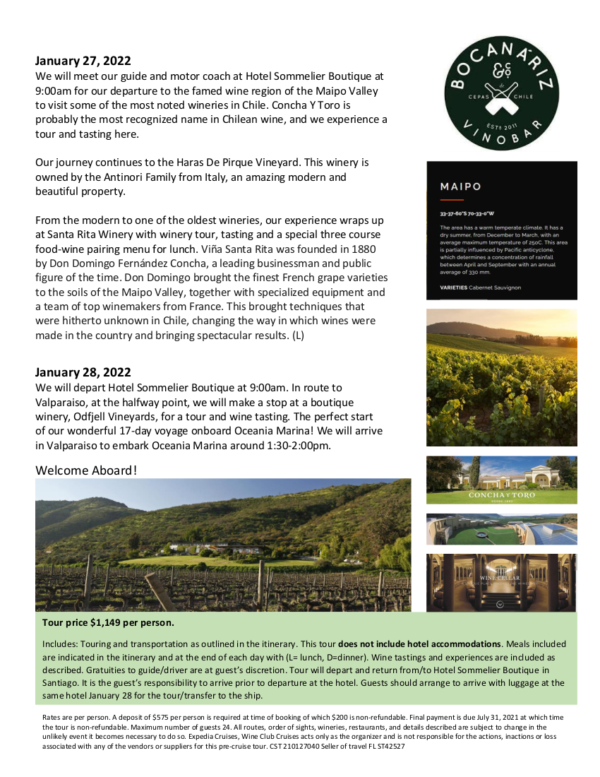 Vines, Wines and Andes Pre Cruise Tour_rev 2