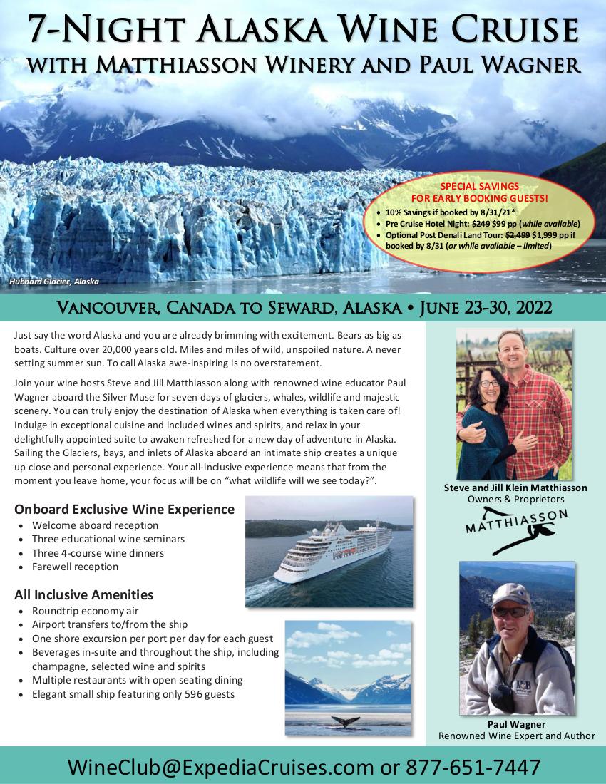 Flyer - Silversea Alaska 2022 1