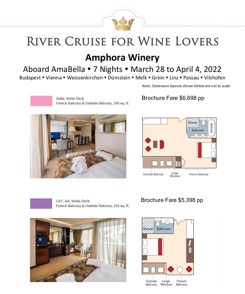 Stateroom Guide - Amphora 2022 Danube_r6 1