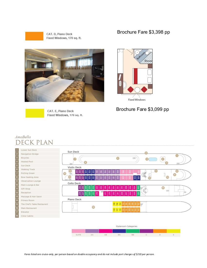 Stateroom Guide - Amphora 2022 Danube_r6 4