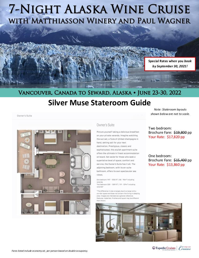 Stateroom Guide - Silversea Alaska 2022_r1 1